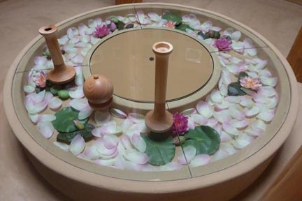 愛染寺納骨堂の壇